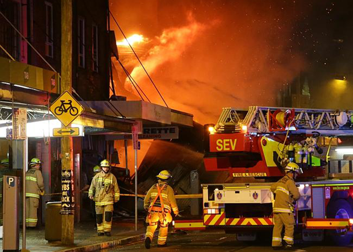 Australian Convenience Store Owner Charged with Arson