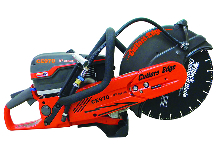 CUTTERS EDGE has introduced the new H² series rotary rescue saws
