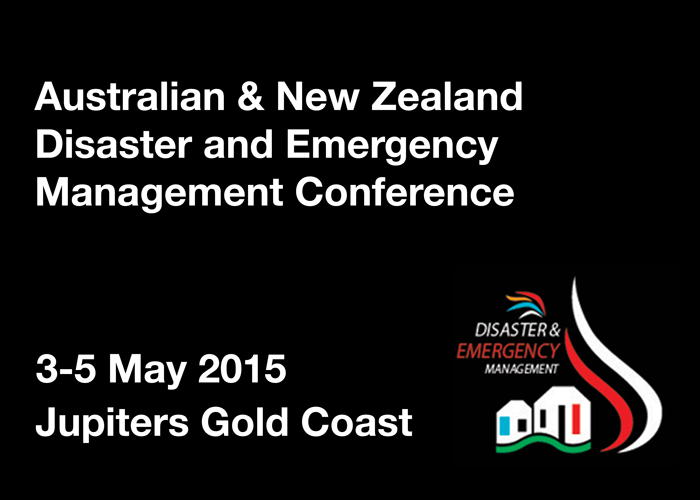 Australian and New Zealand Disaster and Emergency Management Conference