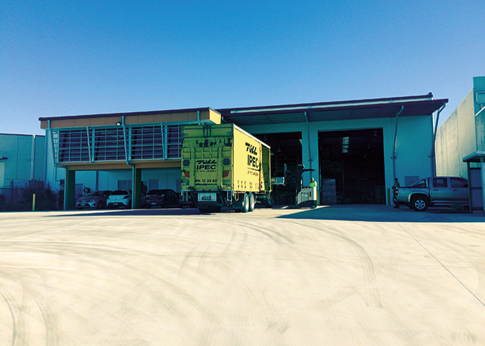 New PAC Fire distribution centre in Yatala, Queensland, Australia.