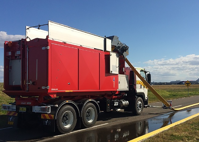 Bulk water transport for two of Australia's largest fire services
