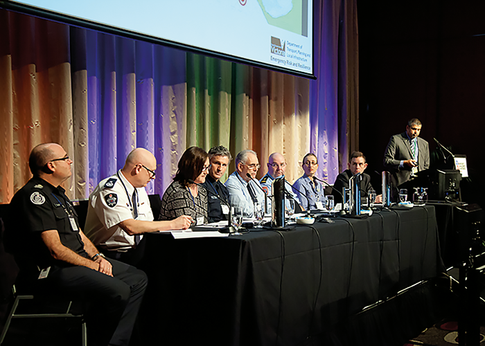 Chief offices panel discussion on current issues.