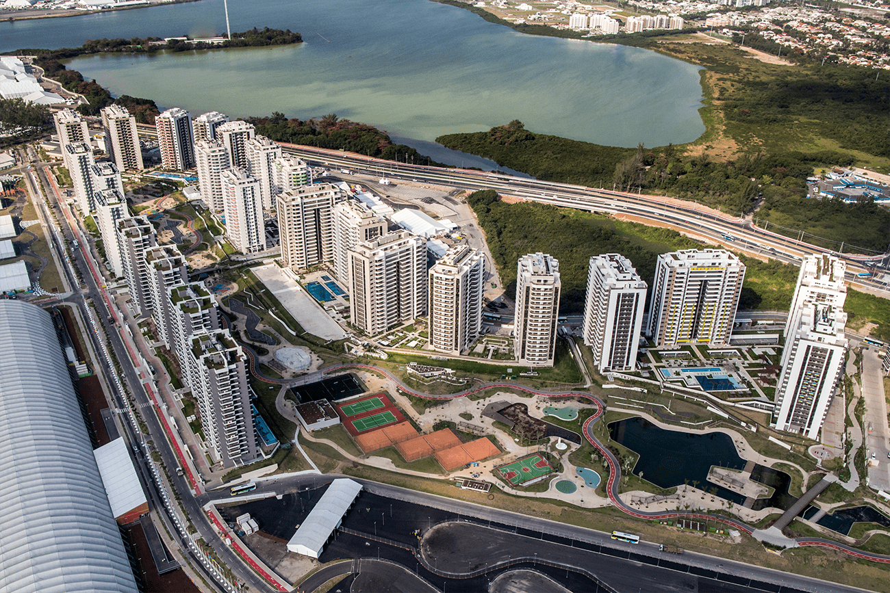 Fire in Australian section of the Rio Olympic Village