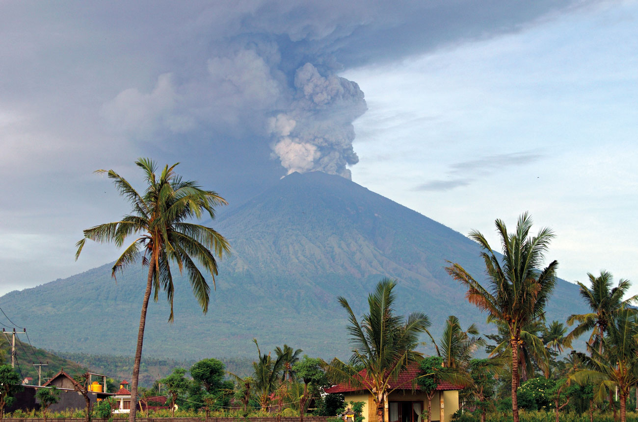 Crowdsourcing apps and 3D maps assisted emergency response when Mt Agung erupted in 2018.