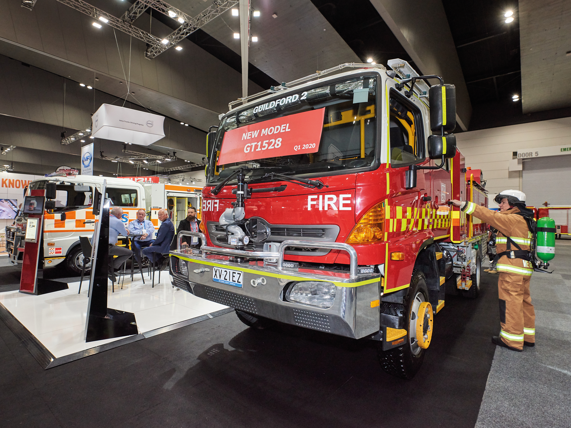 Hands-on opportunity to view the latest technology, safety and efficiency features in today's fire appliances, major OEMs and service body builders are showcasing.
