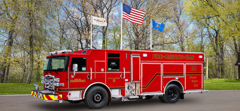 Pierce has secured an order for its 3,000th Pierce Ultimate Configuration (PUC). (Image copyright: Pierce)