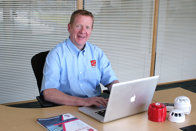 Andy Turner, Business Development Manager for System Sales. (C-TEC)