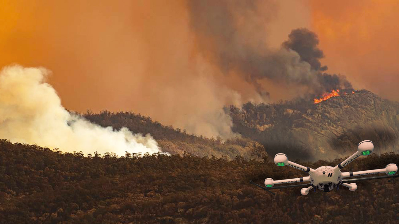 Drones need data being harnessed and shared to live up to their firefighting potential.