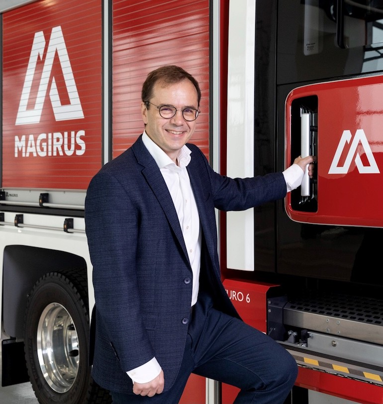 Thomas Hilse, Chief Executive Officer of Magirus. (Magrius)