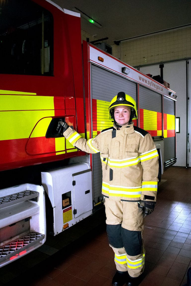 The latest additions to the XENON range of multi-functional structural firefighting garments have helped Ballyclare secure a major new order from three fire and rescue services in the Yorkshire and Humberside region. (Photo courtesy of Catherine Lloyd of Cat Lloyd Photography)