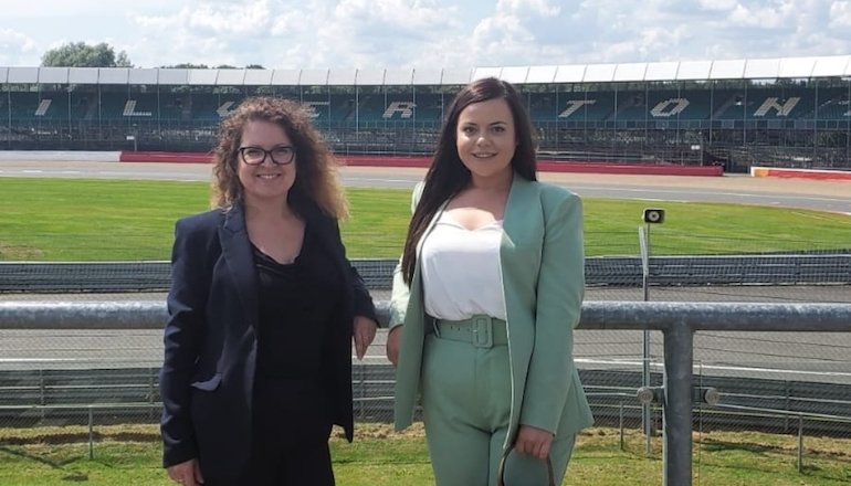 Women in Fire Safety founders Kate Blake and Chloe Vickery. (WIFS)