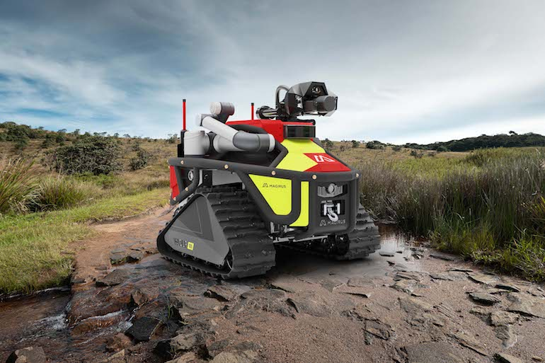 Magrius Wolf R1 tactical robot. (Magrius)