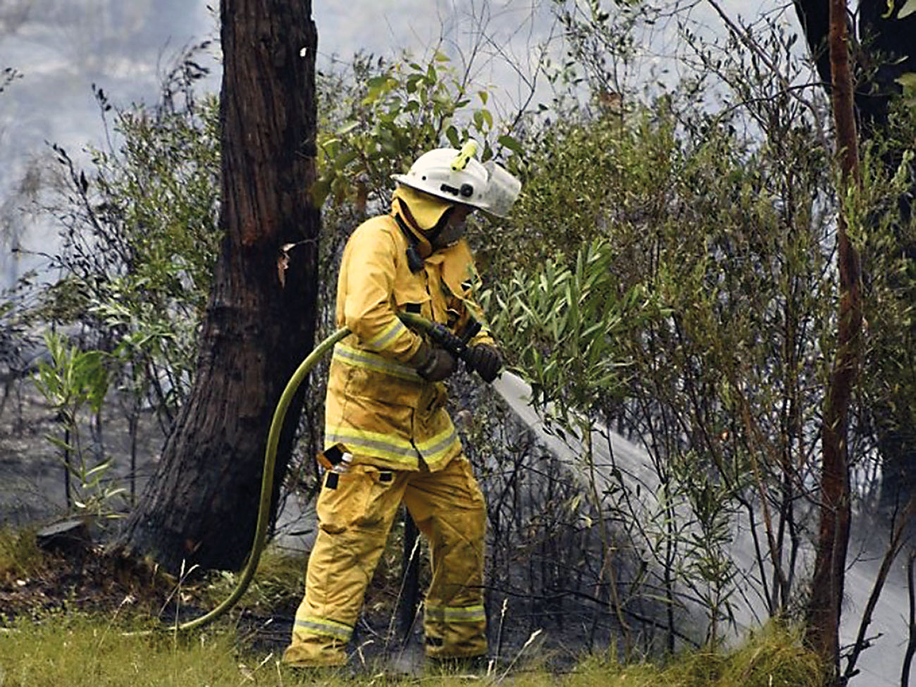 South Australia CFS have been wearing ECO-DRY Shield since 2019.